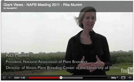 Image of a Rita Mumm video that is part of the NAPB Giant Views Videos